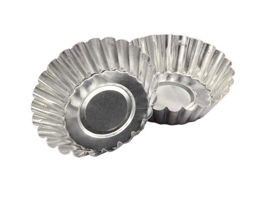 Bakeware Enthusiastic 10pcs/lot,new Disposable Chrysanthemum Lamp Upset Aluminum Foil Baking Cookie Muffin Cupcake Egg Tart Pudding Mold Round Kitchen,dining & Bar