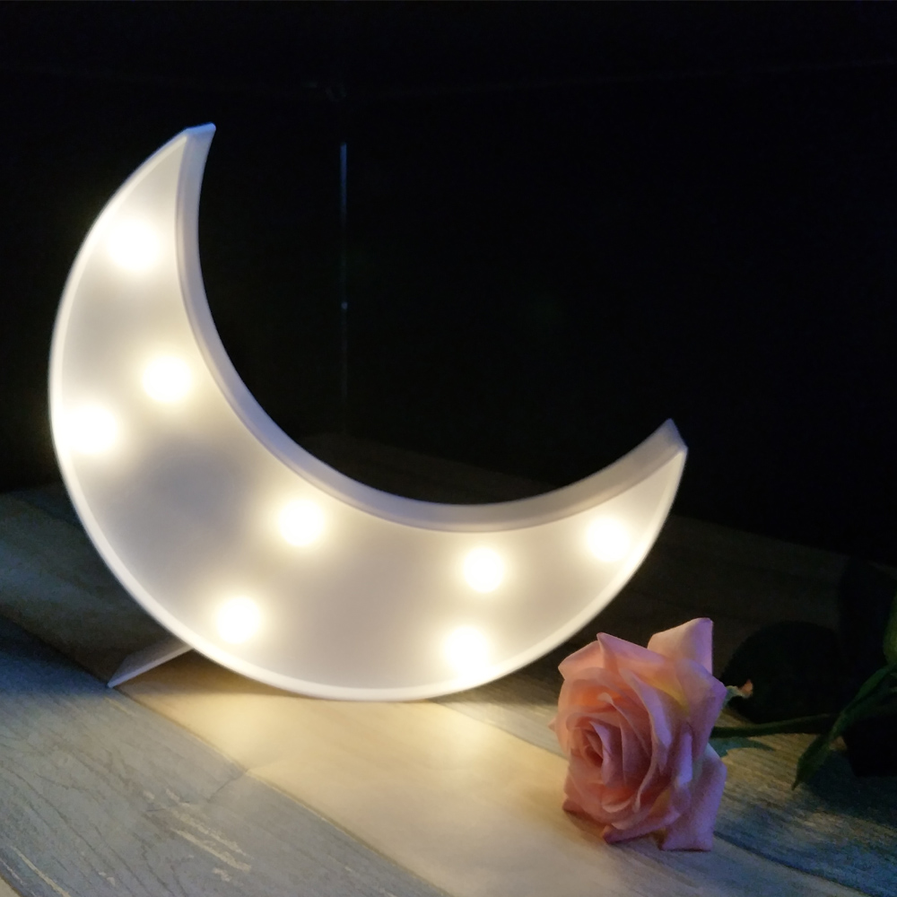 ECOG LED Wall Light Moon Star Cloud Night Light for Home ...