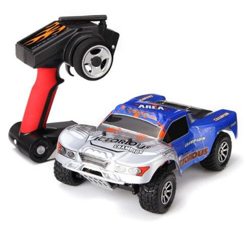 WLtoys A969-B RC Speedcar WLtoys A969-B 1/18 4WD Short Course High Speed RC Car 70km/h RTR With 7.4V 1400MAH Battery wltoys a969 rc car 1 18 2 4gh 4wd short course truck