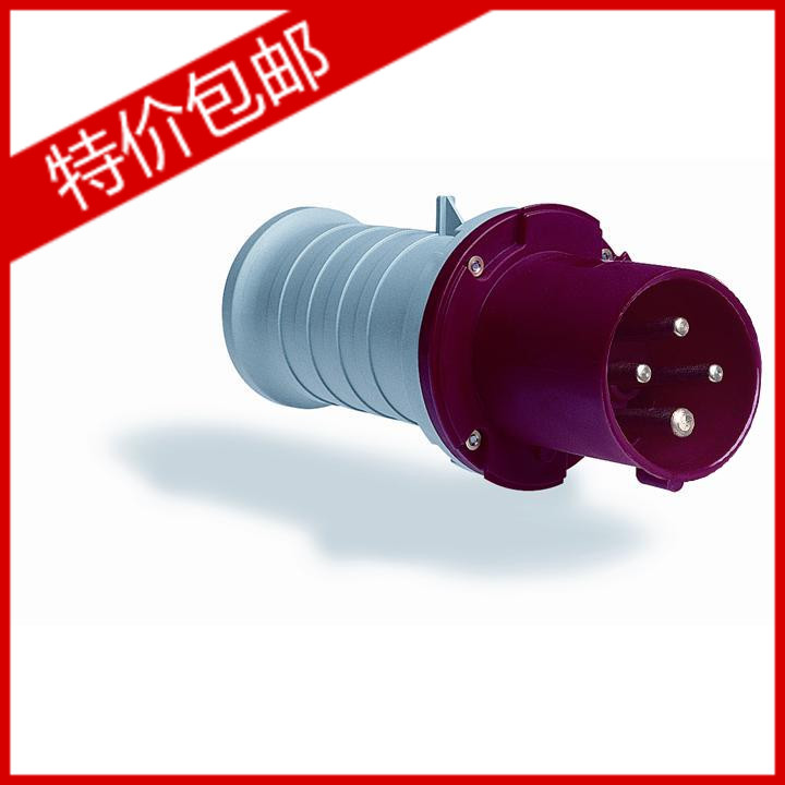 ABB industrial connector four pole mobile industrial plug 63A 363P6 софтстартер abb 1sca108689r1001