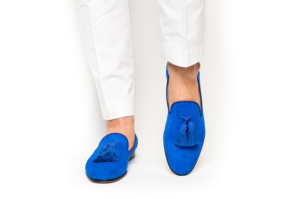 Zapatos planos de Hombre Zapatos de vestir de negocios zapatos de hombre negro slip on tassel boda Hombre Zapatos - 5