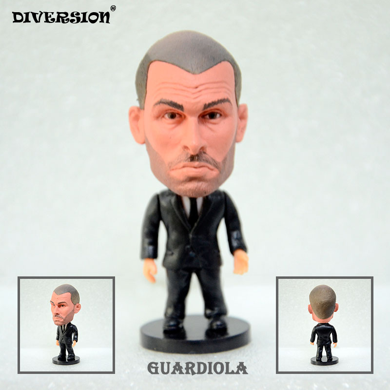Soccer Coach GUARDIOLA (MC) 2.5 Action Dolls Figurine soccerwe soccerwe
