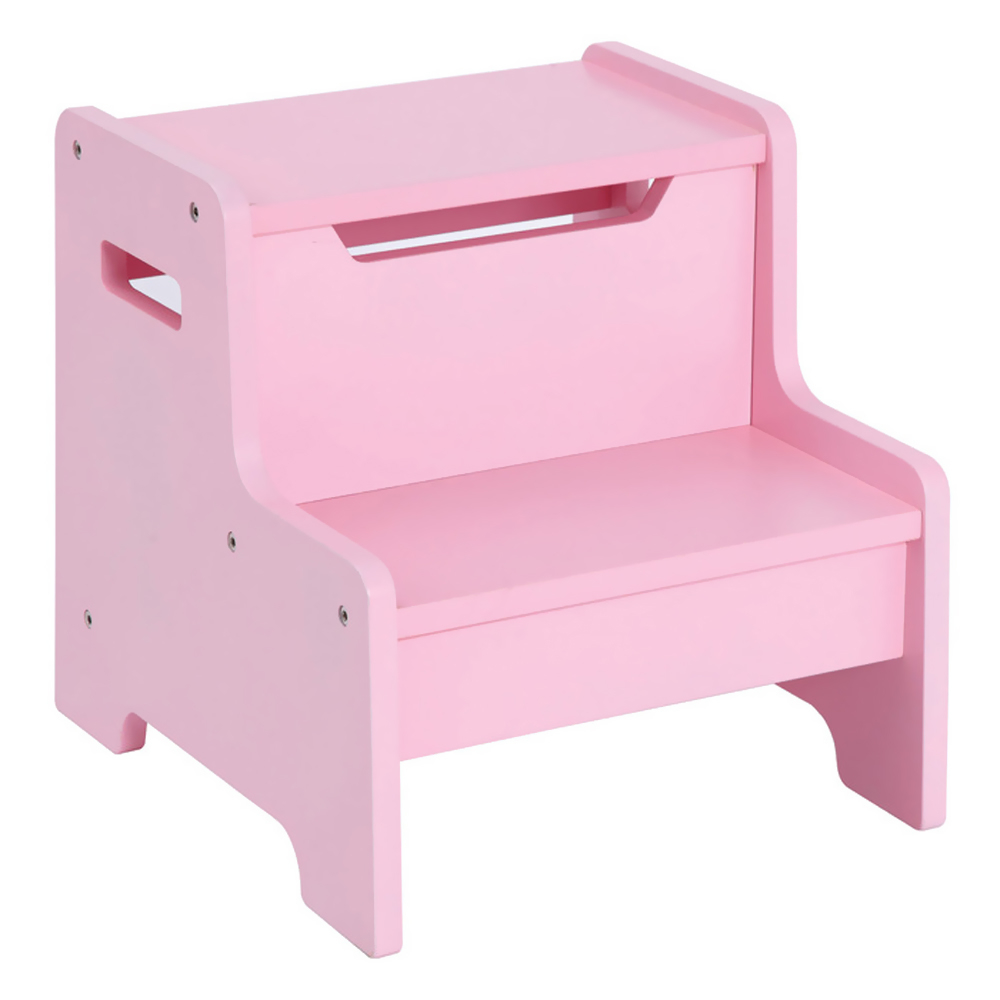 GuideCraft Expressions Step Stool: Pink guidecraft expressions trophy rack natural
