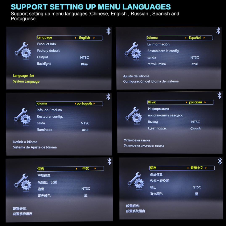 Bluetooth 12 HD ラジオ