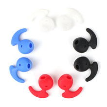 1 Pasang Earphone Silicone Case Silicone Earbud Eartip untuk Samsung S6 Tingkat Bluetooth Earphone(China)