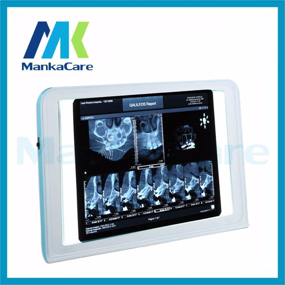 Negatoscope one bank/Led film viewer/X ray film viewer Dental X-Ray Film Illuminator Light Box X-ray Viewer LED Light Panel A4
