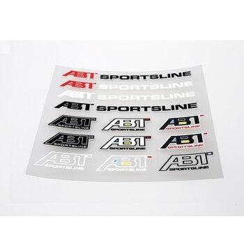 Aliauto車スタイリングabtスポーツラインアクセサリーステッカーとデカール用フォードfocousフォルクスワーゲンポロゴルフルノーオペルbmw e39アウディ