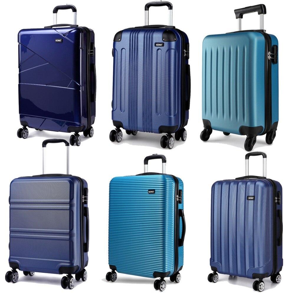 857fb9548 Compra suitcase abs 4 wheels y disfruta del envío gratuito en AliExpress.com