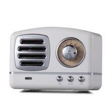 Incorporado Bluetooth V4.1 estéreo inalámbrico Vintage Retro micrófono altavoz HIFI Aux soporte portátil