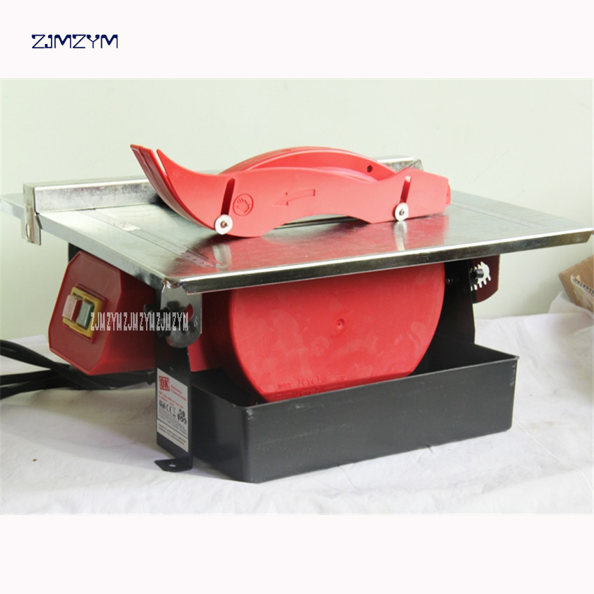 7 inch Home multi-function micro table saw woodworking jade table saw diy jade 45 degree oblique cutting machine 220v-240v 600W 45 90degrees cutting oblique tenon saw ark woodworking diy home carpenter working saw box 12