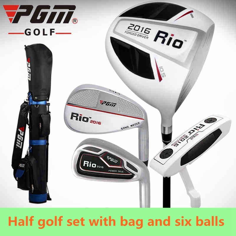 PGM Brand 4-pieces Women Half Set Golf Clubs With Bag For Leaner Beginner Carbon Shaft Of Top-selling ...