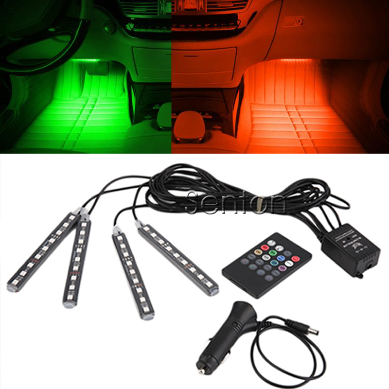 Adjustable LED Chips Neon Lamp Car Styling For Ford Focus 2 Renault Alfa Romeo 159 147 156 166 Mazda 3 6 2 CX-5 CX-7 Accessories 10x car wheel snow chains for mini cooper r56 r50 r53 f56 f55 r60 r57 for alfa romeo 159 147 156 166 gt mito accessories