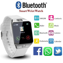 Fashion Sports Electronic Smart Watch DZ09 Remote Camera Pedometer Bluetooth Smartwatch Support SIM TF Card For Android PK Y1 A1