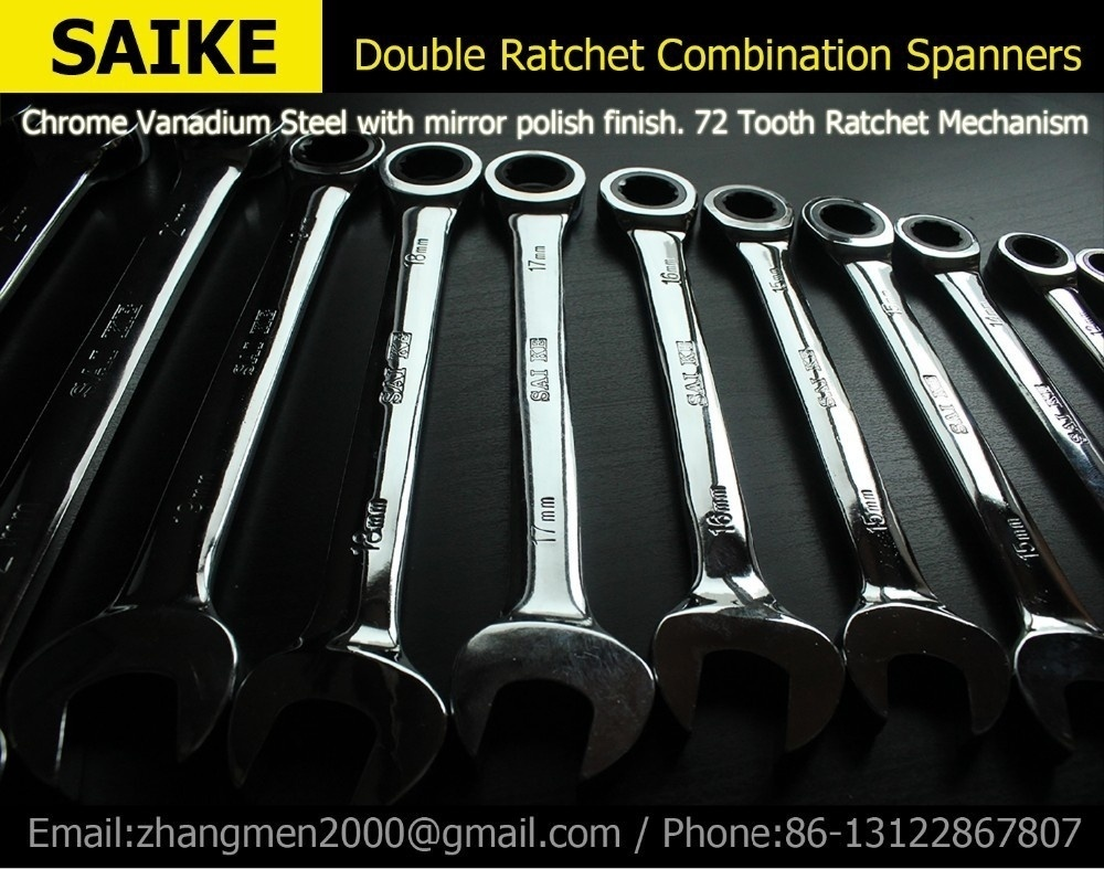 8-32mm  22pieces METRIC Chrome Vanadium CRV Quick Release Reversible Ratchet Combination Wrench Set Gear Wrench Spanner 10 12 13 14 15mm chrome vanadium quick release ratchet combination wrench spanner set torque adjustable monkey wrench