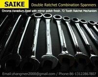 8 32mm 22pieces METRIC Chrome Vanadium CRV Quick Release Reversible Ratchet Combination Wrench Set gear spanner Spanner