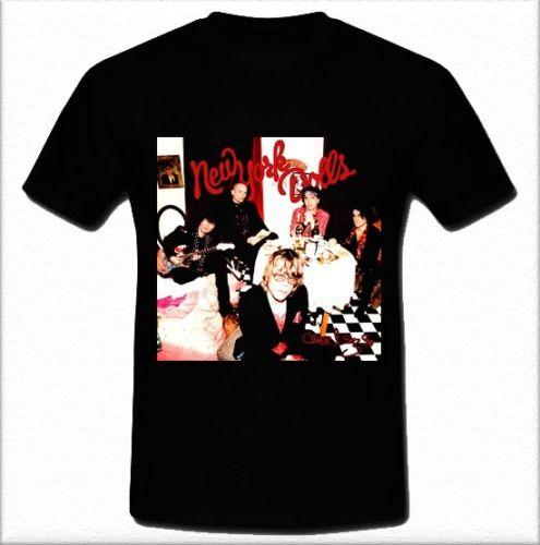 The New York Dolls American hard rock band Cause I Sez So T-shirt S M L XL 2XLSummer Style T shirt