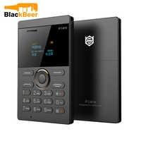Mosthink IFcane E1 AIEK X8 GSM 2G Cellphone Mini Mobile Phone ultra thin credit card Button Single SIM FM Radio Mp3 mini phones