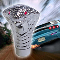 Car Gear Shift Knob Gear Shift LED Rojo Ojos De Serpiente Rally Racing Shifter perilla Palanca Palo Encendido Engranajes Para Manual transmisión
