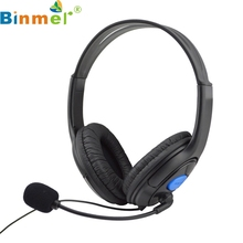 Factory price High Quality Hot Selling Wired Gaming Headset Headphones With Microphone For Sony PS4 Play jy29 Drop Shipping