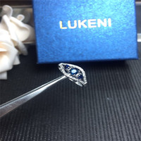 Wedding Ring 925 Sterling Silver Rings For Women Jewelry Blue Sapphire Mother Ring Party Jewelry