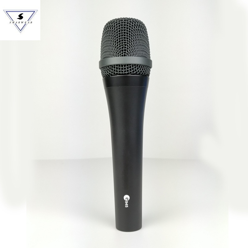 E945 Supercardioid Dynamic Handheld Mic Professional Vocal Live Stage Presentations Sound Recording Dynamic Microphone