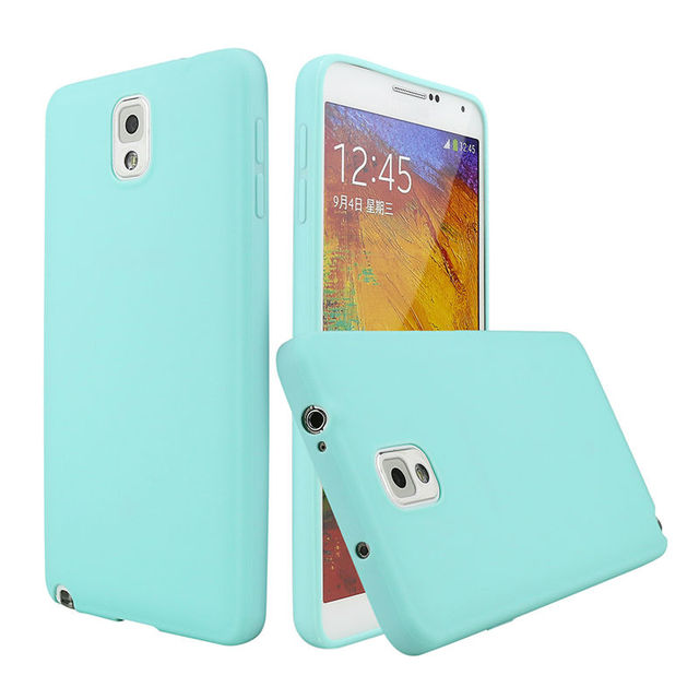 the best attitude 5093a 2c7c3 US $1.59 20% OFF|Note 3 Candy Color TPU Rubber Case Cover for Samsung  Galaxy Note 3 Silicon Case Glossy Back Cover for Samsung Note3 N9000  Skin-in ...