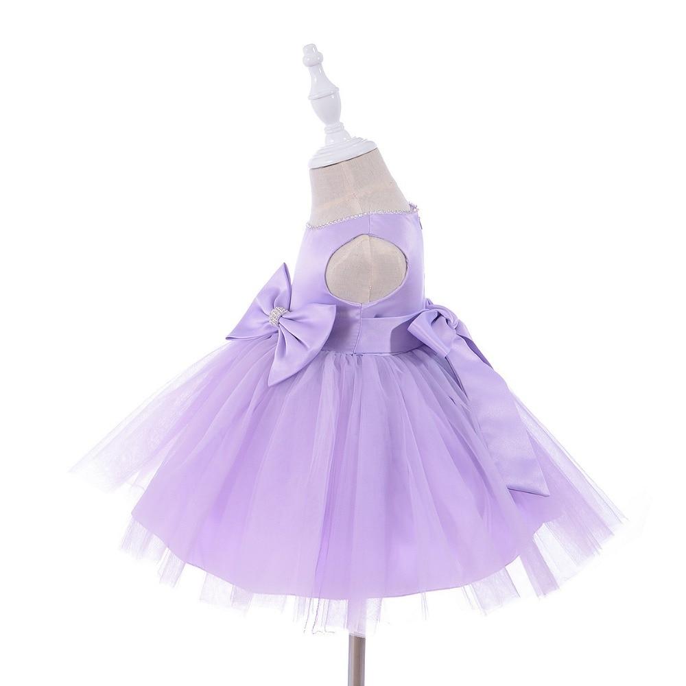 0-1 jaar verjaardag peuter meisje doop jurk bruiloft kostuums - Babykleding - Foto 5