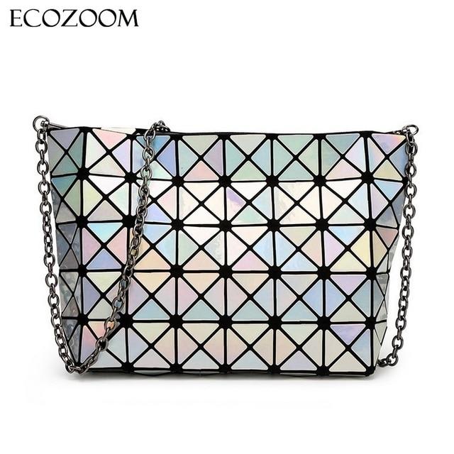 Designer Madam Chain Diamond Lattice Handbags Day Clutches Small Women Bag Lady Fashion Shoulder Bag Fold Bag Bolsa Sac