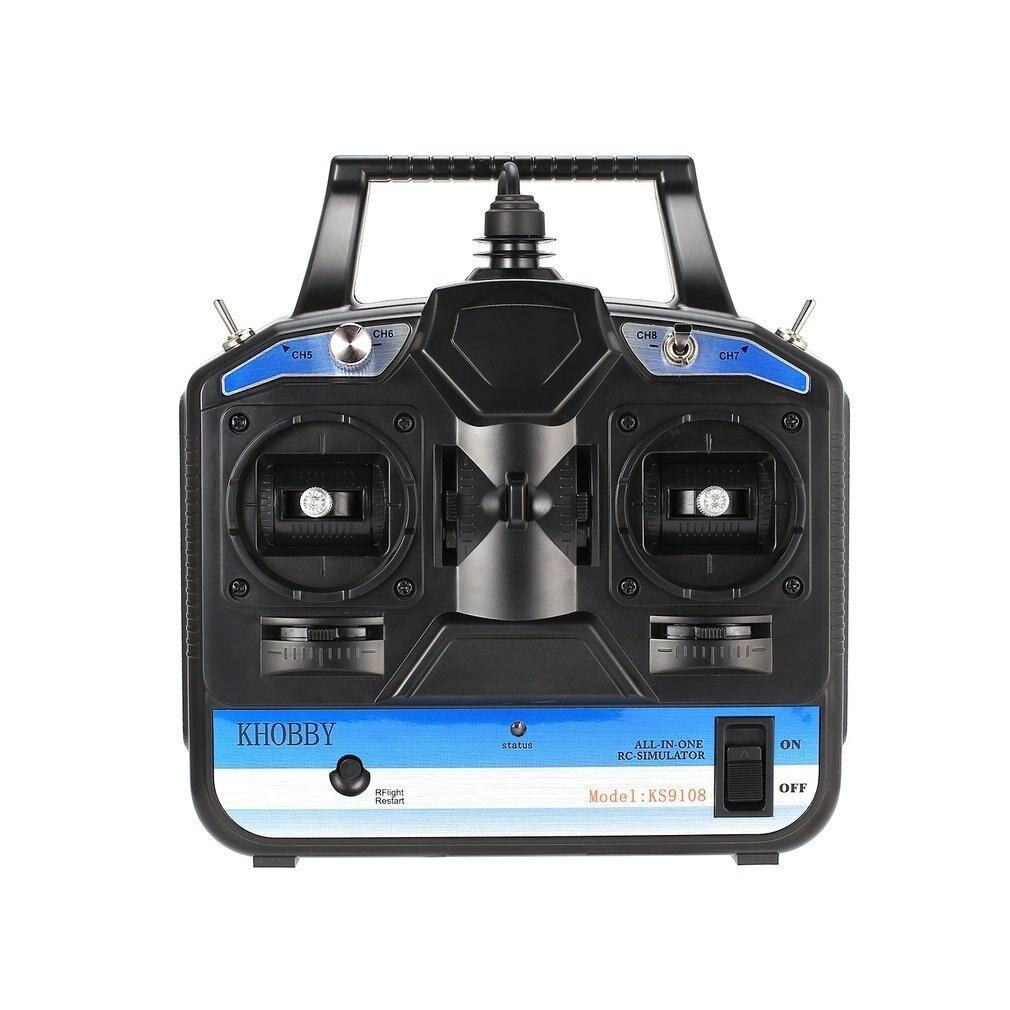 8CH RC simulateur de vol pour Phoenix 1/2/3/4/5 RealFlight G3/G4/G5/G6/G7 hélicoptère télécommandé drone à aile fixe jouet pour garçons