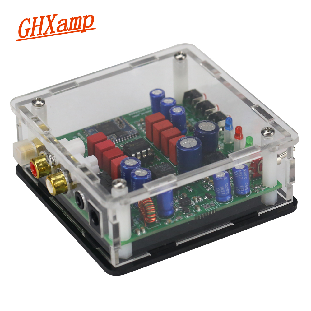 CSR64215 Bluetooth Receiver Aptx JRC4556 Amplifier NE5532 For Active Speaker HIFI Amplifer DIY Acrylic Shell 5V USB