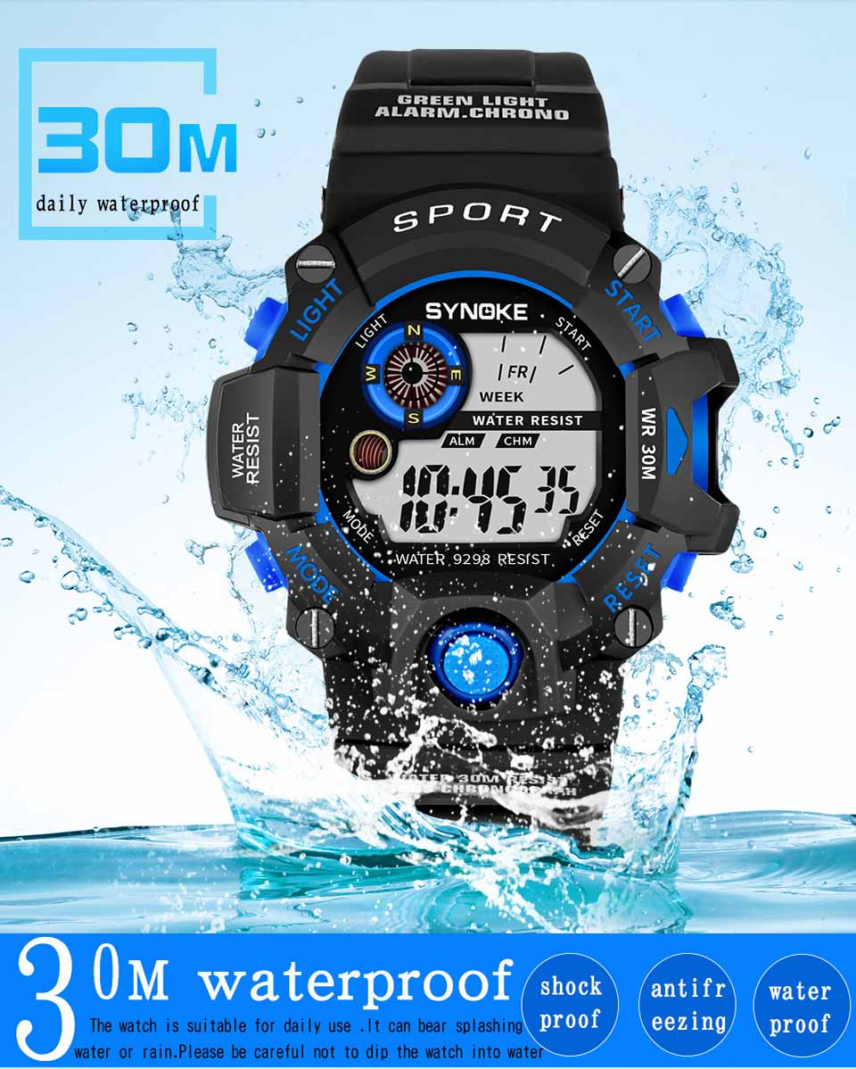 Relogio Masculino Sport Watches Digital Wristwatch For Men and Mens Watches Top Brand Luxury Relogio Digital Relojes 4