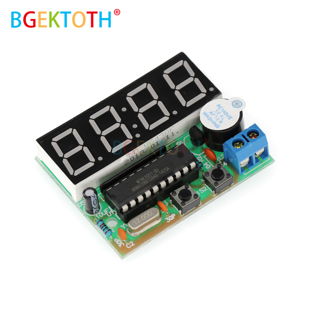 High Quality C51 4 Bits Electronic Clock Electronic