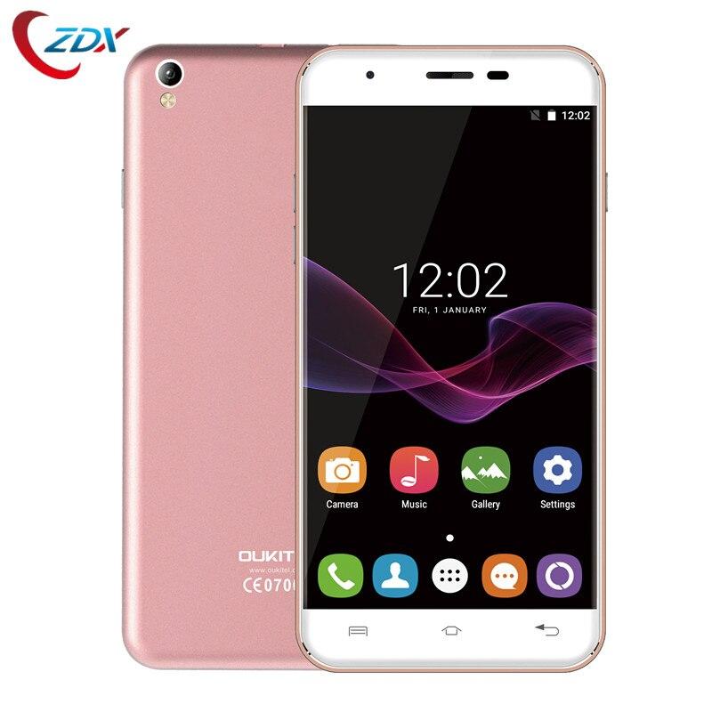bilder für Auf lager oukitel u7 max handy 5,5 zoll hd-bildschirm mtk6580a Quad Core 1G RAM 8G ROM 8MP Kamera Android 6.0 3G WCDMA telefon