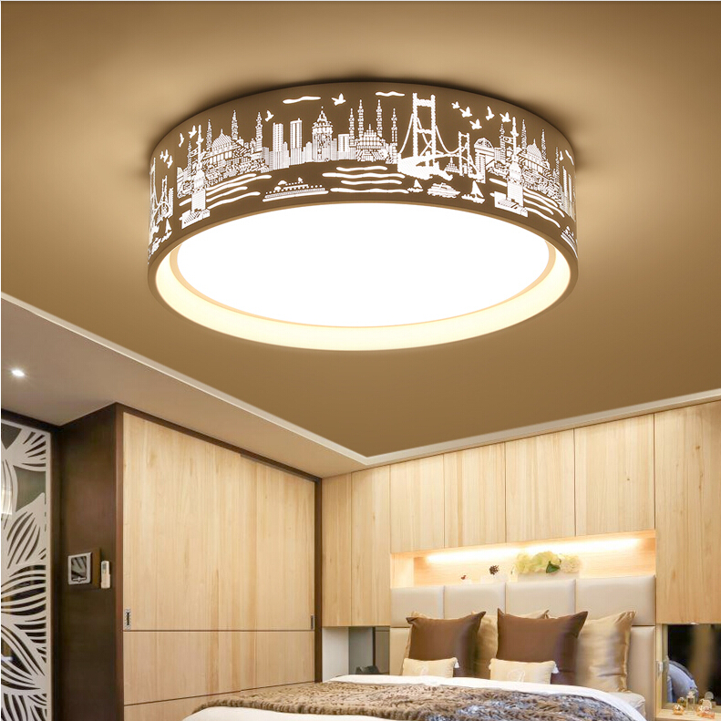Aliexpress.com : Buy Modern Ceiling Lights simple Round LED ceiling ...