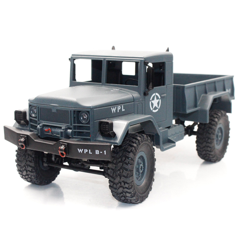 Image 4 - 1/16 Remote Control Military Truck Off Road RC Car Model Climbing Car Stunt Four wheel Off road Military Truck Children Toy-in RC Cars from Toys & Hobbies