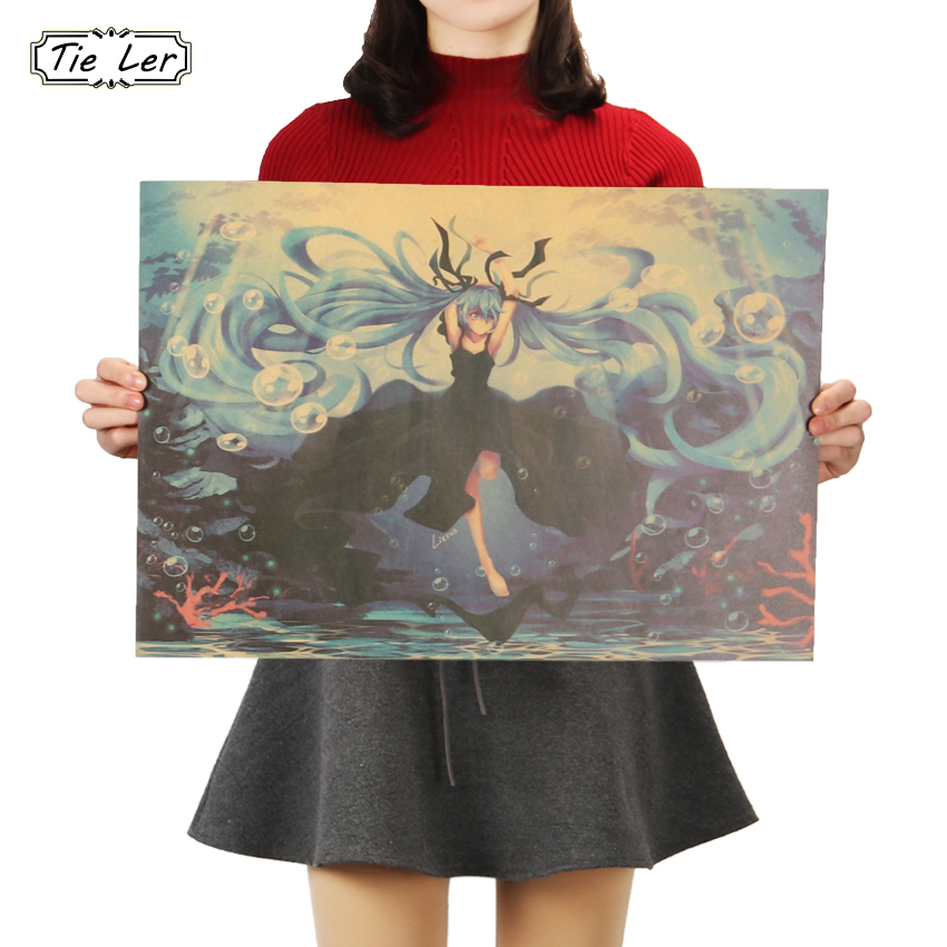 tie-ler-cartoon-comic-font-b-hatsune-b-font-miku-music-b-style-kraft-paper-poster-bars-cafe-decor-painting-wall-sticker-51x36cm