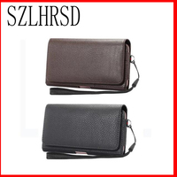 Belt Clip Leather Pouch Waist Bag Phone Cover For Highscreen Easy XL Pro Power Ice Max