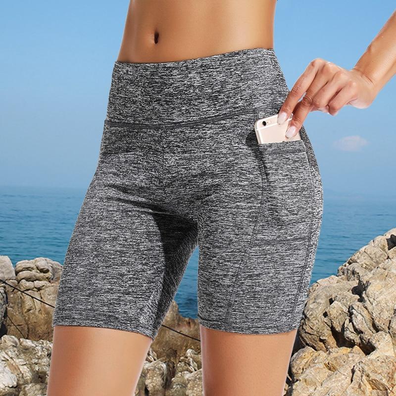 Summer High Waist Shorts Women Fashion Push Up Shorts Workout Short Feminino Solid Color Skinny Women Shorts Drop Shipping|Shorts| - AliExpress