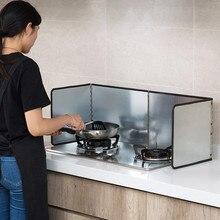 Газовая плита оцинкованная Вода экран от масляных брызг щит изоляции доска кухня приготовления масла сепаратор жарки защита экрана