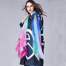 Runway Wool Coat 2015 Europe Fashion New Turn-Down Collar Streak Hit Color Absract Print Double Pocket Elegant Slim Coat
