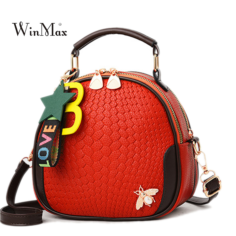 New Summer Women Small Bags For Girls Shoulder Bag Fashion Femal PU Leather Handbags Tassel Crossbody Bag For Women Bolsas 2018 fashion small bag women messenger bags soft pu leather handbags crossbody bag for women clutches bolsas femininas dollar price