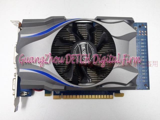 Used GTX740 energy-efficient desktop game disassemble graphics 1GD5 avgad колье