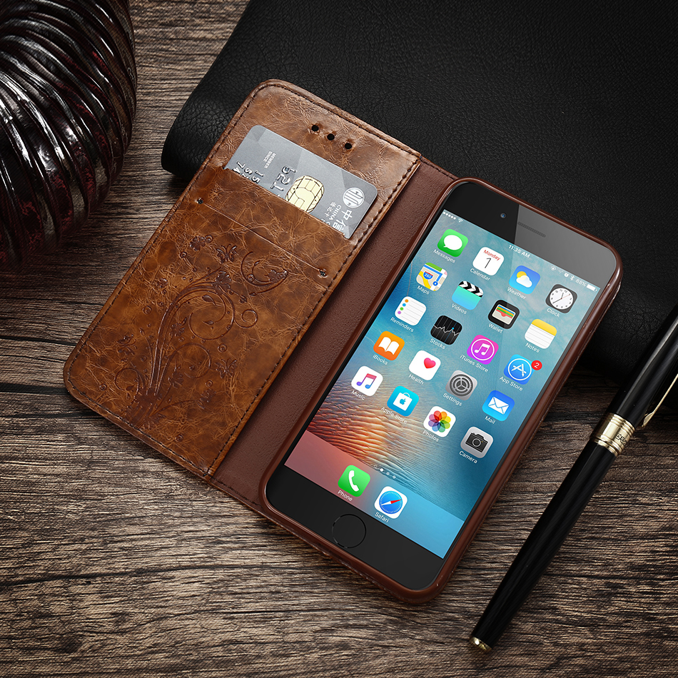 Case For iPhone 6 s 7Plus Woman Luxury Cover Flip Cases For Samsung Galaxy S6 S7 Edge (2)
