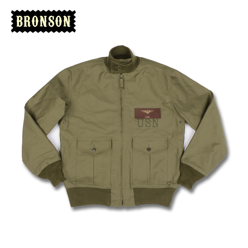 Aliexpress.com : Buy BRONSON uniform jacket Navy flight jacket men ...