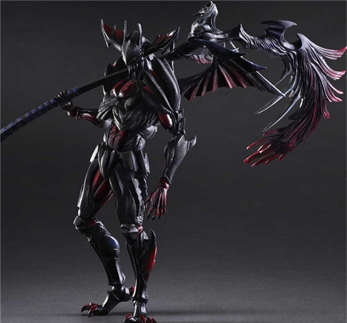 Play Arts Kai Monster Hunter Ultimate Evil Aromor Devil Monster Hunster 4G 27cm Variant Play Art KAI PVC Action Figure Toy Kid play arts kai devil may cry 3 dante vergil figure 25cm variant play art kai pvc action figure toy kid