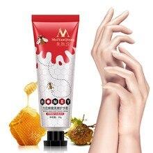 2018Honey Milk Soft Hand Cream Repair Nourishing Hand Skin C