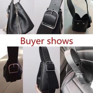 Image 5 - [BXX] 2020 Autumn Elegant Solid Chain Shoulder Bag For Women Brand Designer Luxury Ladies Travel Handbags and Purse HE122