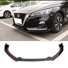 For Nissan Altima Front Bumper Diffuser Protector 2019 New TEANA Teana Body kit bumper rear shovel lip spoiler sport