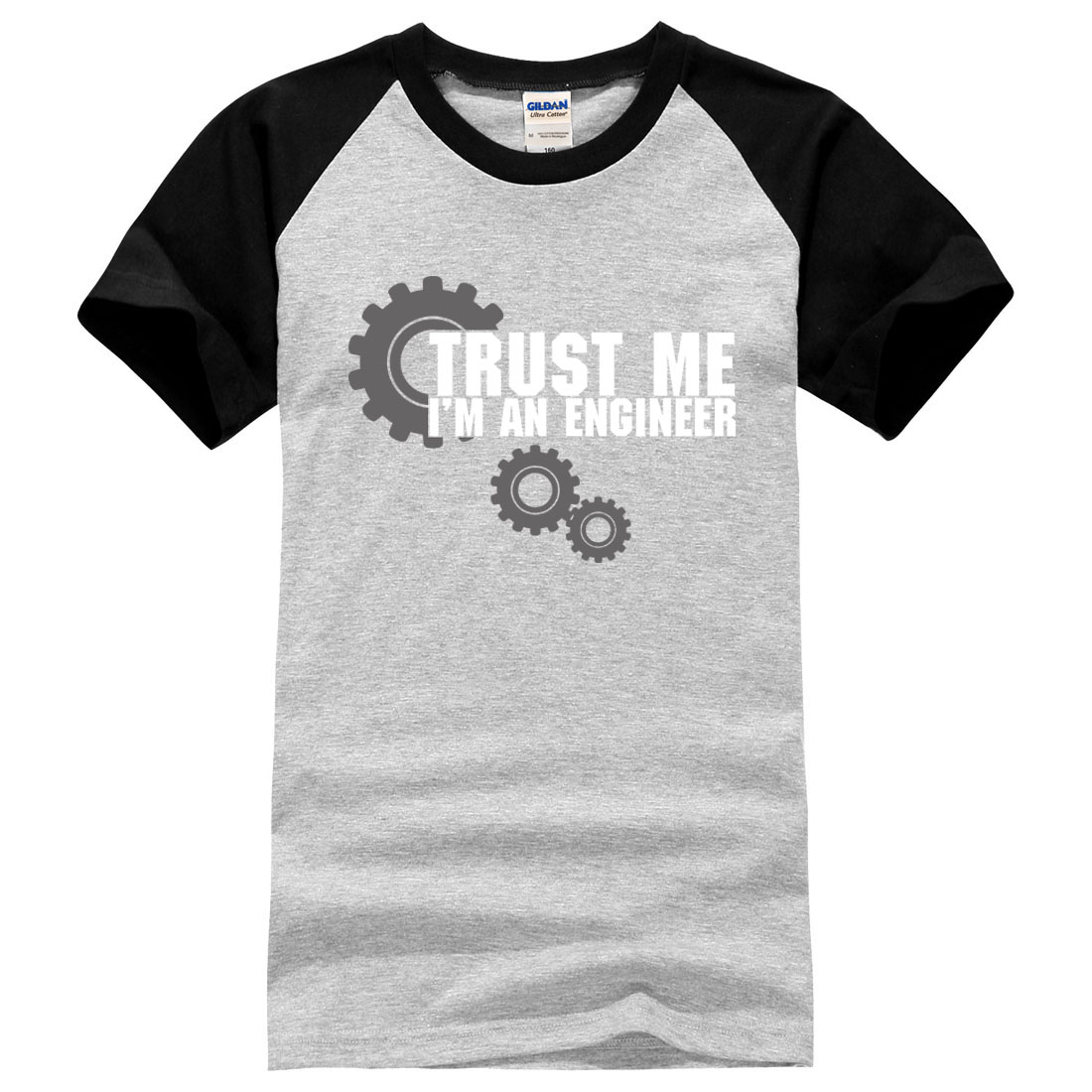 e66eba0eb Trust Me I'm An Engineer fashion new short sleeve brand T-Shirt 2017 summer  patchwork funny hip hop tee shirts men male tops mma