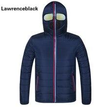 Winter Parka Men Warm Jacket Outerwear Padded Hooded 2017 Brand New Stylish Down Jackets With Glasses Windbreaker Coat Hombre 84